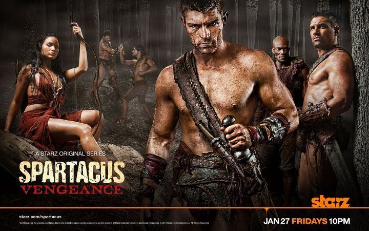 Spartacus Vengance Episodio 3 .The Greater Good