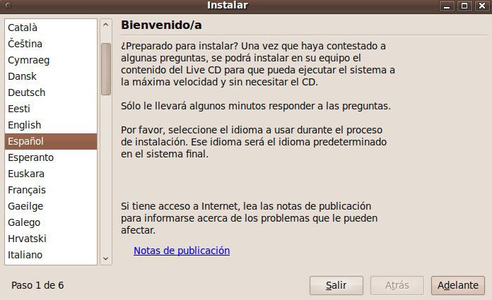 Tutorial | Como Instalar Ubuntu 9.10 sin formatear Windows